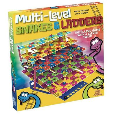 The Happy Puzzle Company Multi Level Snakes & Ladders