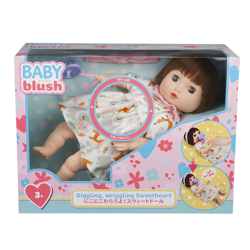 Baby Blush Giggling, Wriggling Sweetheart Doll