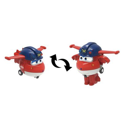 Super Wings Transform A Bots Police Jett