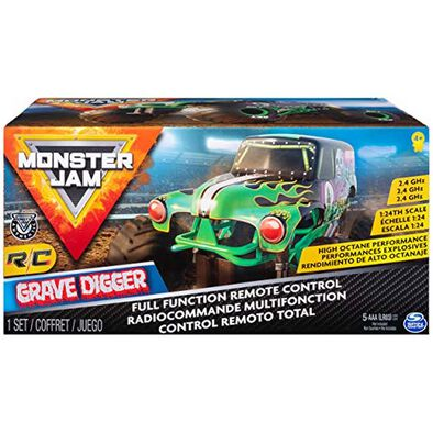Monster Jam 1:24 Remote Control - Assorted