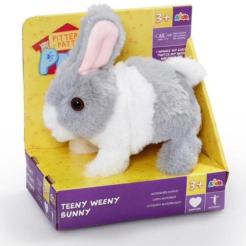 Pitter Patter Pets Teeny Weeny Bunny - Assorted