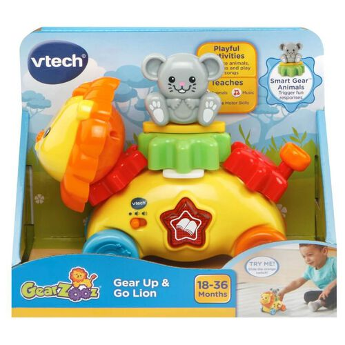 Vtech Gear Up and Go Lion