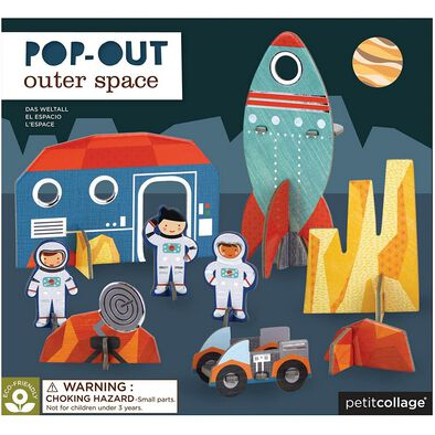 Petit Collage Pop Out Space