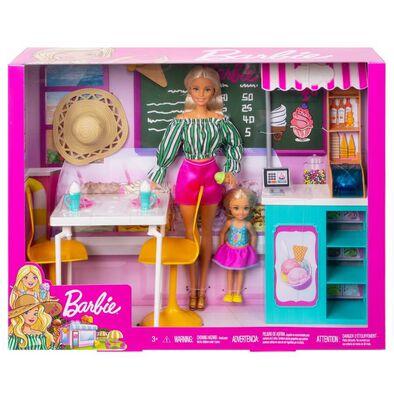 Barbie With Gelato Café