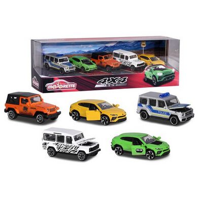 Majorette SUV 5 Piece Giftpack