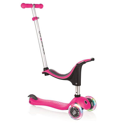 Globber Go•Up Sporty Lights Pink Scooter