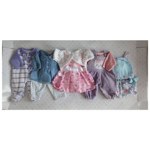 """You & Me 12""""-14"""" 5 Pack Playtime Outfits"""