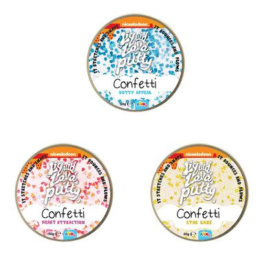 Nickelodeon Liquid Lava Putty Confetti - Assorted