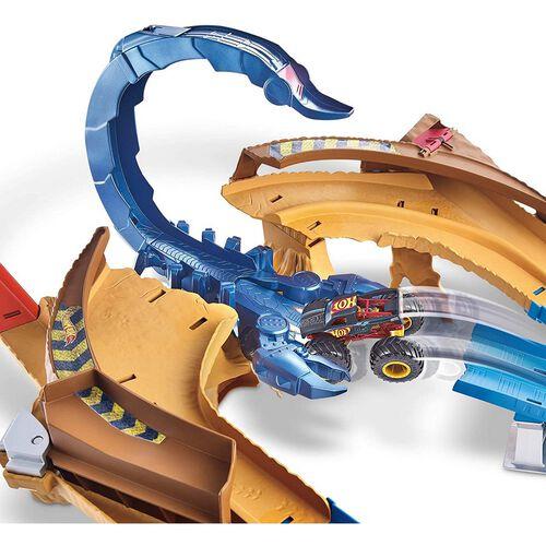 Hot Wheels Monster Trucks Scorpion Sting Raceway