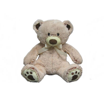 Animal Alley 12 Inch Two-Tone BearWith Ribbon
