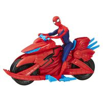 Spider-Man With Cycle