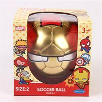 Marvel Iron Man - No.2 PVC Soccer Ball