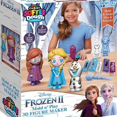 Cra-Z-Art Softee Dough Disney Frozen 2 3D Figure Maker