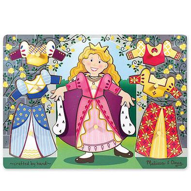 Melissa and Doug -Colourful Peg Puzzle - Assorted