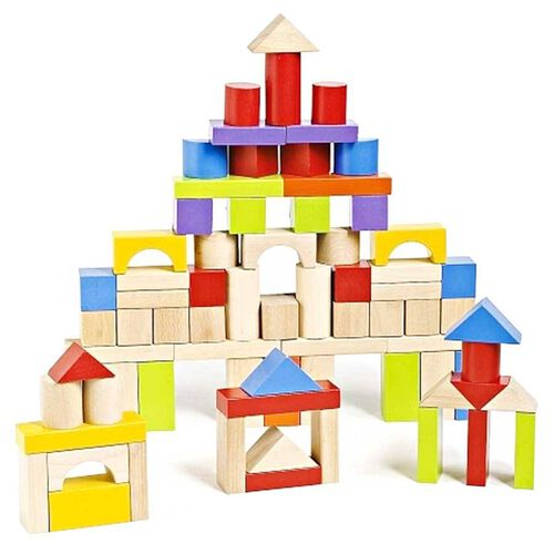 Universe of Imagination Imaginarium 75 Piece Wooden Block Set