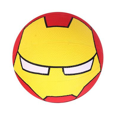 Rubber Basketball Iron Man Size 3