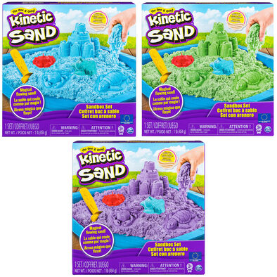 Kinetic Sand Box Set 450G-Assorted