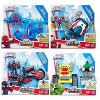 Playskool Heroes Marvel Super Hero Adventures Figure and Vehicle - Assorted