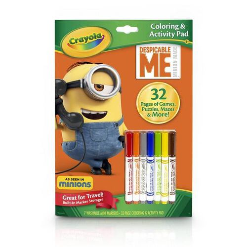 Crayola Color & Activity Book Dm 12Pk