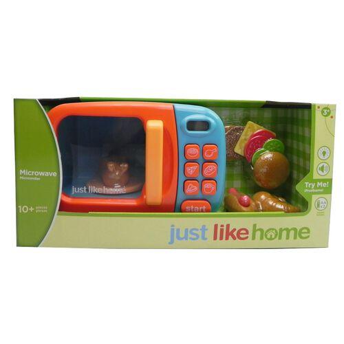 Just Like Home Microwave - Blue