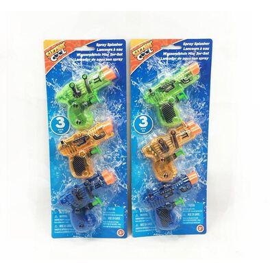 Sizzlin' Cool 3-Pack Mini Water Blasters