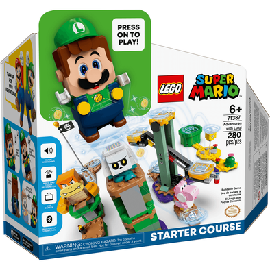 LEGO Super Mario Adventures With Luigi Starter Course Pack 71387