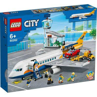 LEGO City Airport Passenger Airplane 60262