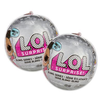 L.O.L. Surprise Bling 2-in-1 Bundle Pack