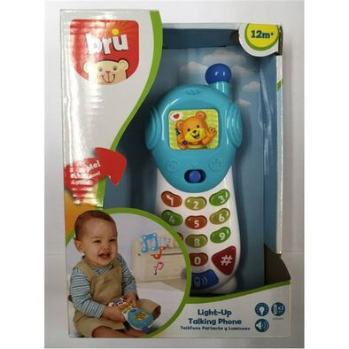 BRU Infant & Preschool Light-Up Talking Phone