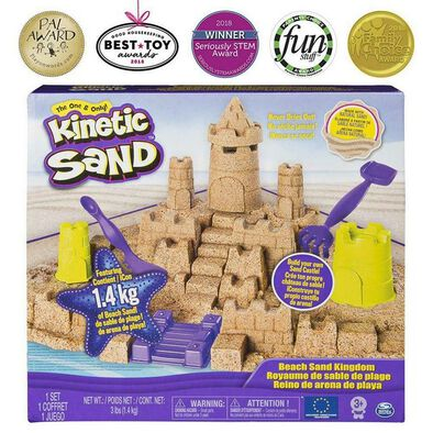 Kinetic Sand Beach Sand Kindom Playset
