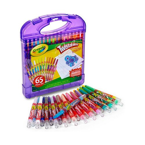 Crayola Mini Twistables Crayon and Paper Set