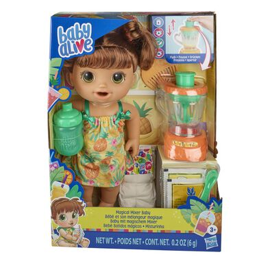 Baby Alive  Magical Mixer Brown Hair