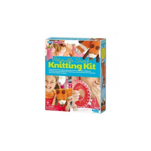 4M Adorable Scarf Knitting Kit