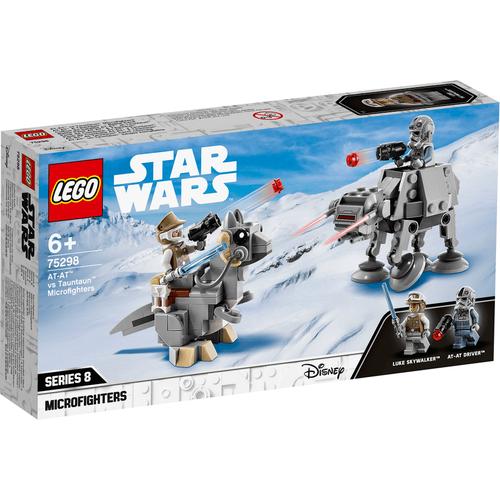 LEGO Star Wars TM At-At Vs. Tauntaun Microfighters 75298