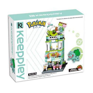 Pokemon Keepplay Bulbasaur Dessert House