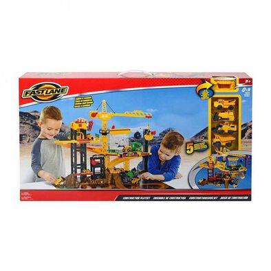 Fast Lane Construction Playset