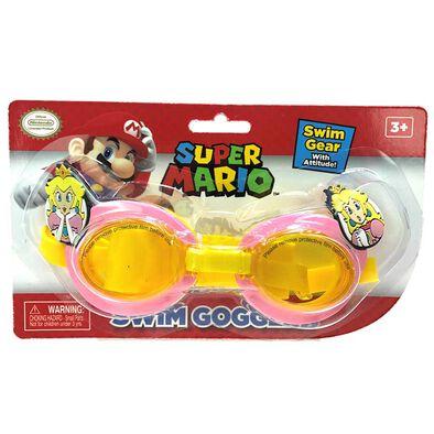 Nintendo Princess Peach Swim Goggles