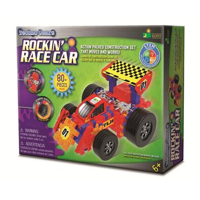 The Learning JourneyTechno Gears Rockin Race Car
