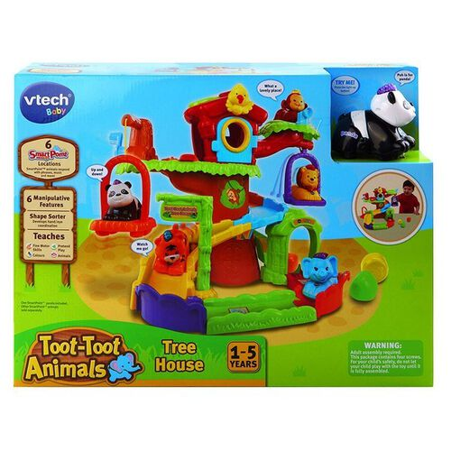 Vtech Toot Toot Animal Tree House - With Panda