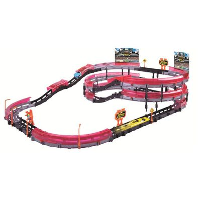 Fast Lane High Speed Multi Level Track Playset