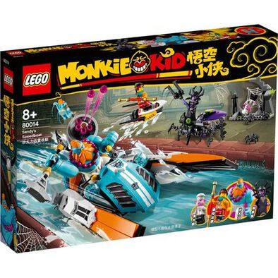 LEGO Monkie Kid Sandy's Speedboat 80014