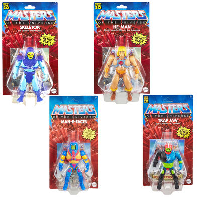 Masters of the Universe Origins Dash D Figure Set of 4