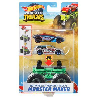 Hot Wheels Monster Truck Maker