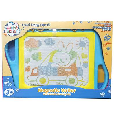 Junior Artist Color Easy Magnetic Writer Blue Mega