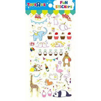 Toys R Us Tru Sticker- Happy Party