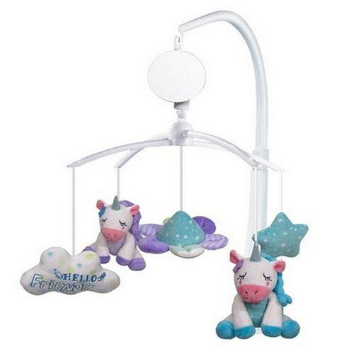 Simple Dimple Unicorn Battery Operated Musical Mobile