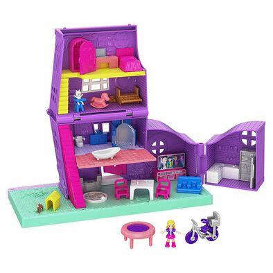 Polly Pocket Pollyville Pocket House