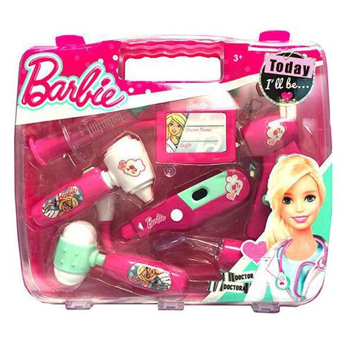 Barbie Corpa Doctor Briefcase Set