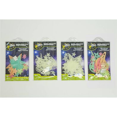 Animal Zone Glow Stars And Planets - Assorted