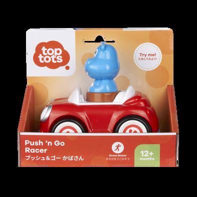 Top Tots Push N Go Racer - Hippo